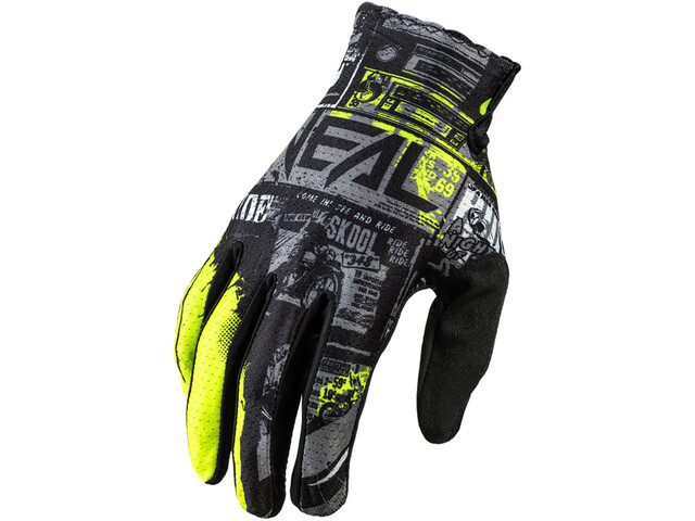O'Neal Matrix Handschuhe Villain ride-black/neon yellow
